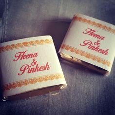 Chocolates for weddings