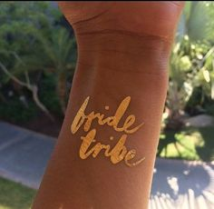 Bachelorette party favor. Flash tattoo. bachelorette tattoo, bride tribe tattoo by DAYDREAMPRINTS