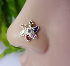 Medusa Piercing Indian Nose RingIndian Nose by TheEthnicJewels