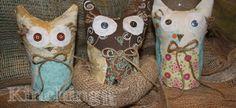 No Sew Owls Craft