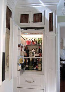 Refrigerator just for drinks