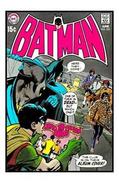 DC Comics The Batman Adventures #222 The Beatles Unsigned 11x17 Comic Cover Photograph