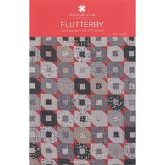 Flutterby Quilt Pattern by MSQC   Jelly Roll