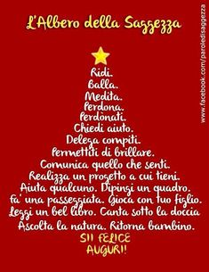 Proposition per Natale. Italian Grammar, Pocket Letters, Words Worth, Merry Xmas, Emoticon, Love Life, Happy New Year, Christmas Time, Positivity
