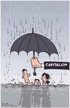 Conozca las impactantes caricaturas que explican la esencia del capitalismo de manera elocuente