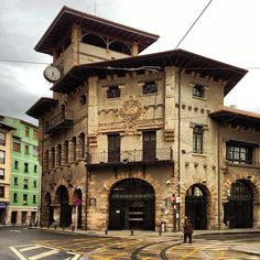 Estación de Atxuri, Bilbao.
