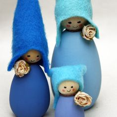 Cornish Pixie Elves The Blues by CornishDragon on Etsy