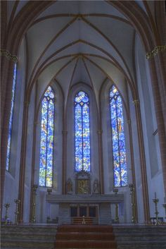 St. Stephen's church, Mainz, Germany
