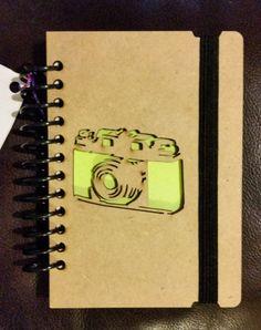 Mini notebook cámara portátil portátil de madera por NudoDiseno