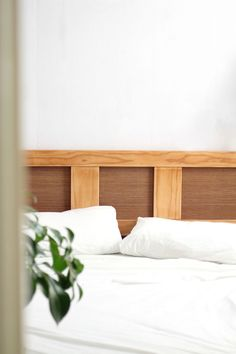 DIY Cane Headboard: Makeover your old bedhead - Eclectic Creative