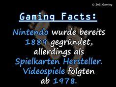 Nintendo wurde bereits 1889 gegründet, allerdings als Spielkarten Hersteller. Videospiele folgten ab 1978.