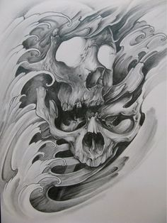 tattoos design your own free Tatto Skull, Skull Tattoo Design, Skull Design, Skull Art, Tattoo Designs, Ozzy Tattoo, 1 Tattoo, Dark Tattoo, King Tattoos