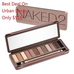 urban Decay Eyeshadows 2 only $16