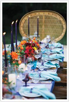 spanish fiesta dinner party …