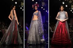 preeti kapoor collection of chantilly lace at lakme fashion week - Google Search