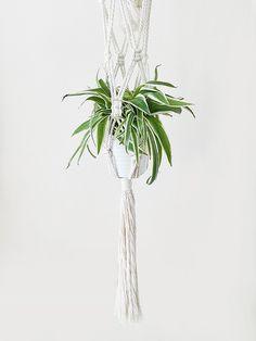 doble colgador para plantas macramé colgador para por mimesishome