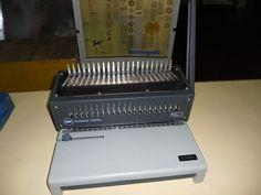 Rilegatrice spirale plastica GBC Comb bind C250 pro