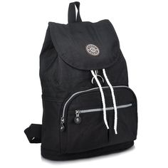ZYSUN Women's Nylon Bags Durable Daypack Washable Light Weight Travel Backpack -- Check out the image by visiting the link. (This is an Amazon Affiliate link and I receive a commission for the sales)