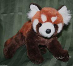 Douglas Plush Carrots RED PANDA Stuffed Animal Realistic Cuddle Toy NEW #DouglasCuddleToy