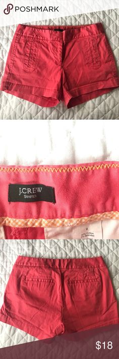 Hot pink shorts These shorts are perfect for the summer! Size 2 from J. Crew and in perfect condition. No flaws whatsoever. J. Crew Shorts