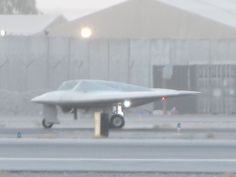 The 'Beast of Kandahar' Stealth Aircraft Quietly Resurfaces in New Pics Stealth Aircraft, Military Aircraft, Aviation Technology, Flying Wing, Military Pictures, Army & Navy, Beast, Drones, Airplanes