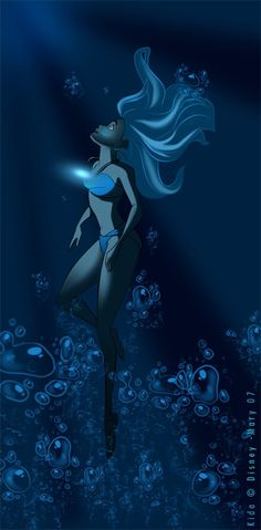 Disney Princess Kida from Atlantis Disney Fan Art those crystals are awesome Disney Pixar, Kida Disney, Disney Fan Art, Disney Girls, Disney And Dreamworks, Disney Animation, Disney Love, Disney Magic, Disney Characters