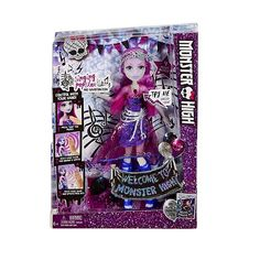 Monster High Dance The Fright Away Singing Popstar Ari Hauntington Doll for sale online Barbie Monster High, Monster High Dolls, Mattel Dolls, Doll Toys, Plant Monster, Lego, Thing 1, Toys R Us, Shades Of Purple