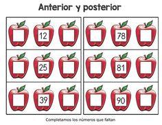 ANTERIOR Y POSTERIOR COMPLETA LOS NÚMEROS QUE FALTAN 0 al 999 -Orientacion Andujar