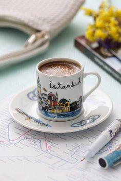 Coffee in Istanbul…(via pinterest)