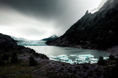 Vista Glaciar Grey