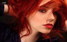 Red Hair Colors For Dark Skin