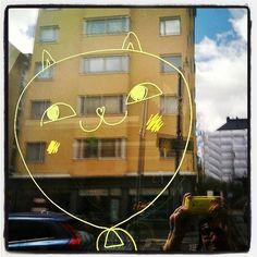 #Happycat #balloon #Kallio #Helsinki