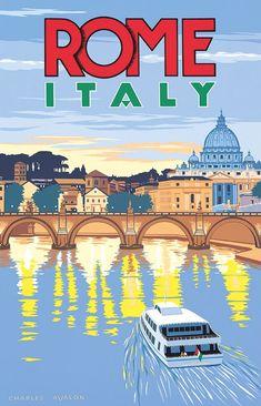 Roma ~ Rome _____________________________ Italie ~ Italia ~ Italy #Vintagetravel