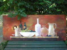 Still life - acrylics by Mugur Kreiss