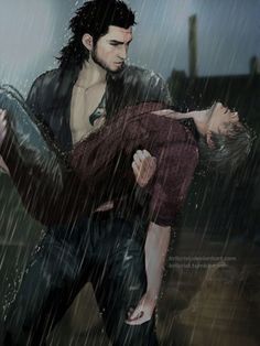 * Now our FFXV has two different endings. Many debates n all,but whatever side u are on,we all need to agree at one thing: Gladio's tender bridal-carry is happening in both verses😤 Credit: coz i'm lazy,I placed direct in game screenshot for. Ignis Final Fantasy, Final Fantasy Artwork, Final Fantasy Collection, Fantasy Series, Noctis, Pony Drawing, Gladiolus, Fan Art, Cartoon Shows