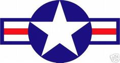 USAF tattoo, mine is rugged and worn WWII style :D