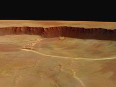 Mars Express Views the Caldera of Olympus Mons Close-up Status Report Source: European Space Agency