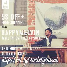 #perfect #deal at @society6 this week!  Grab all #popular HappyMelvin #homedecor and much much more with $5 off + Free shipping worldwide!  Active deal using -> https://society6.com/happymelvin?promo=XCPB49PWPPJN #wanderlust #nature #original #photographer #artist