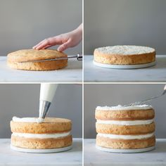 Follow this dessert decorating tutorial to learn how to make a fondant-free Naked Wedding Cake.