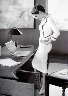 Chic, cool & collected  #workwear #officefashion  www.GoToGlamourGirl.com - Part 2