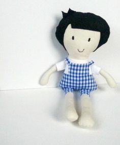 My Noopy Dolls - Paul! Fabric doll, bambola di stoffa