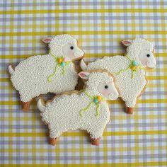 Spring Lamb Cookies