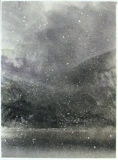'Coniston' by Norman Ackroyd (monoprint) Illustrations, Illustration Art, Abstract Landscape, Landscape Paintings, Scenary Paintings, Art Graphique, Norman Ackroyd, Light In The Dark, Les Oeuvres