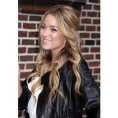 Dark blonde hair colour