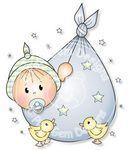 Baby Boy Bundle - Digi Stamp