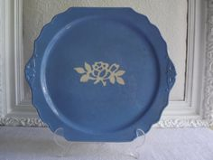 Vintage Harker White Rose CarvKraft Cameo Ware by Rt9NJvintageFun, $24.00