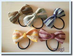 ボーダーの編みリボンゴム♪の作り方 編み物 編み物・手芸・ソーイング ハンドメイド・手芸レシピならアトリエ