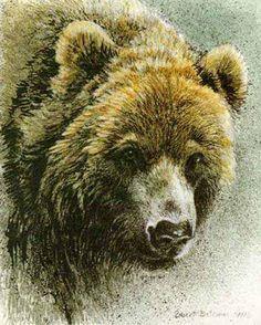"Robert Bateman Presents ""Grizzly Bear"""