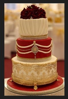 traditional indian wedding cake | Indian Weddings: Cake by Soma Sengupta