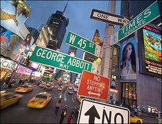 Take a walk on the streets of New York